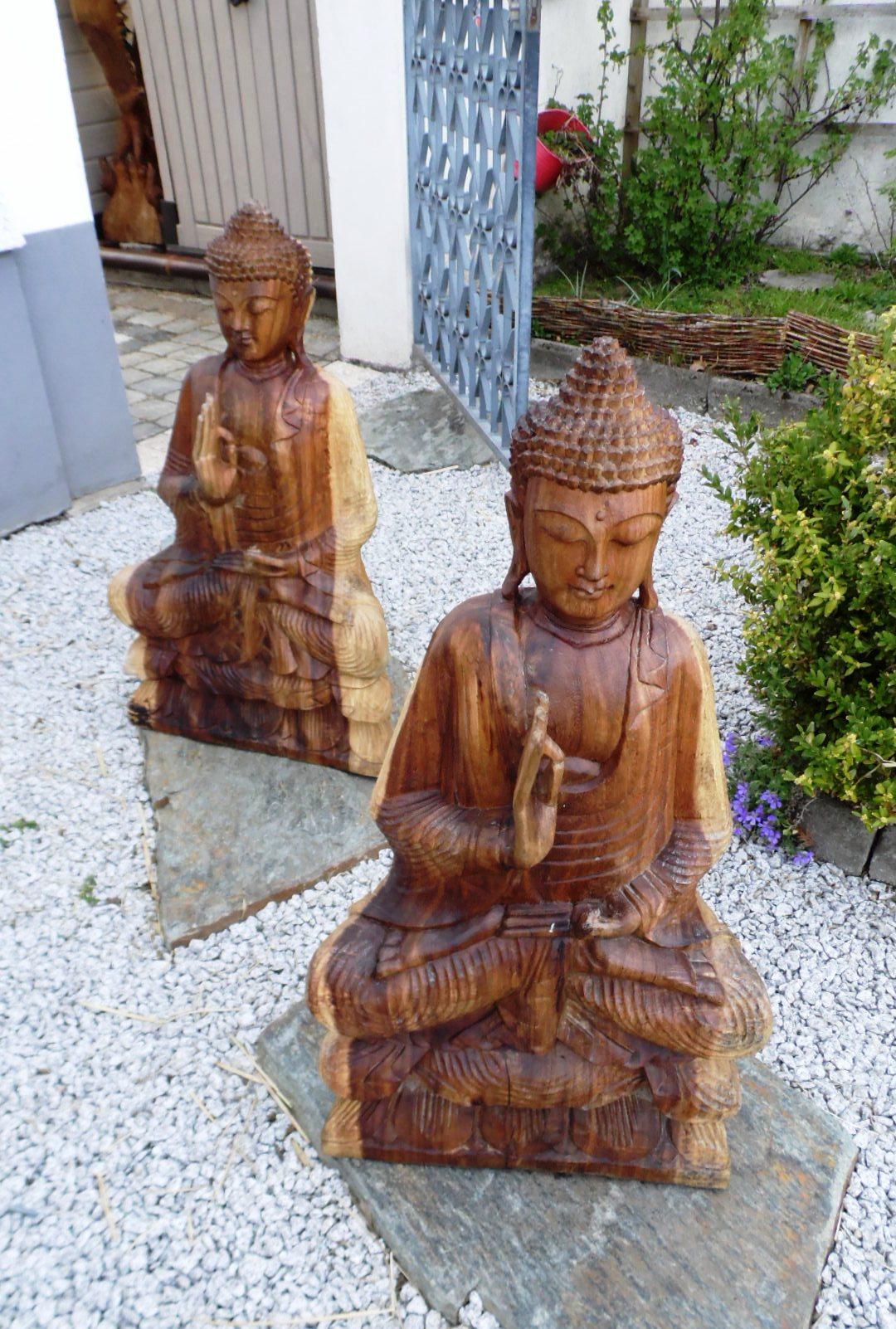 big holz buddha 87 cm big meditation buddha 87 cm