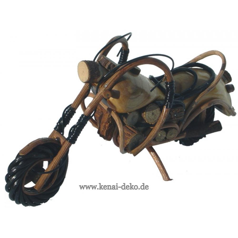 motorrad aus holz l nge 30 cm kenai. Black Bedroom Furniture Sets. Home Design Ideas